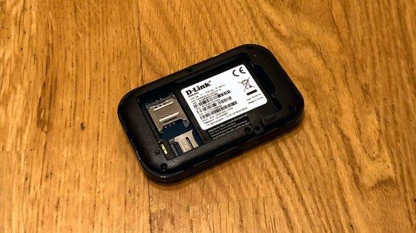 D-Link Router von hinten
