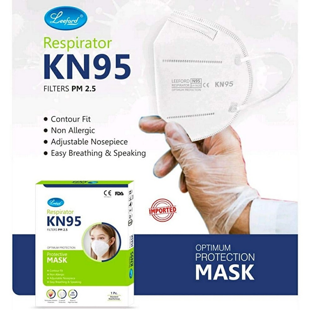 leeford kn95 face mask without valve