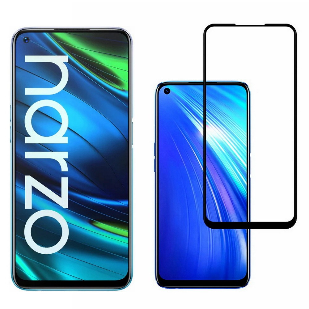 narzo 20 pro tempered glass