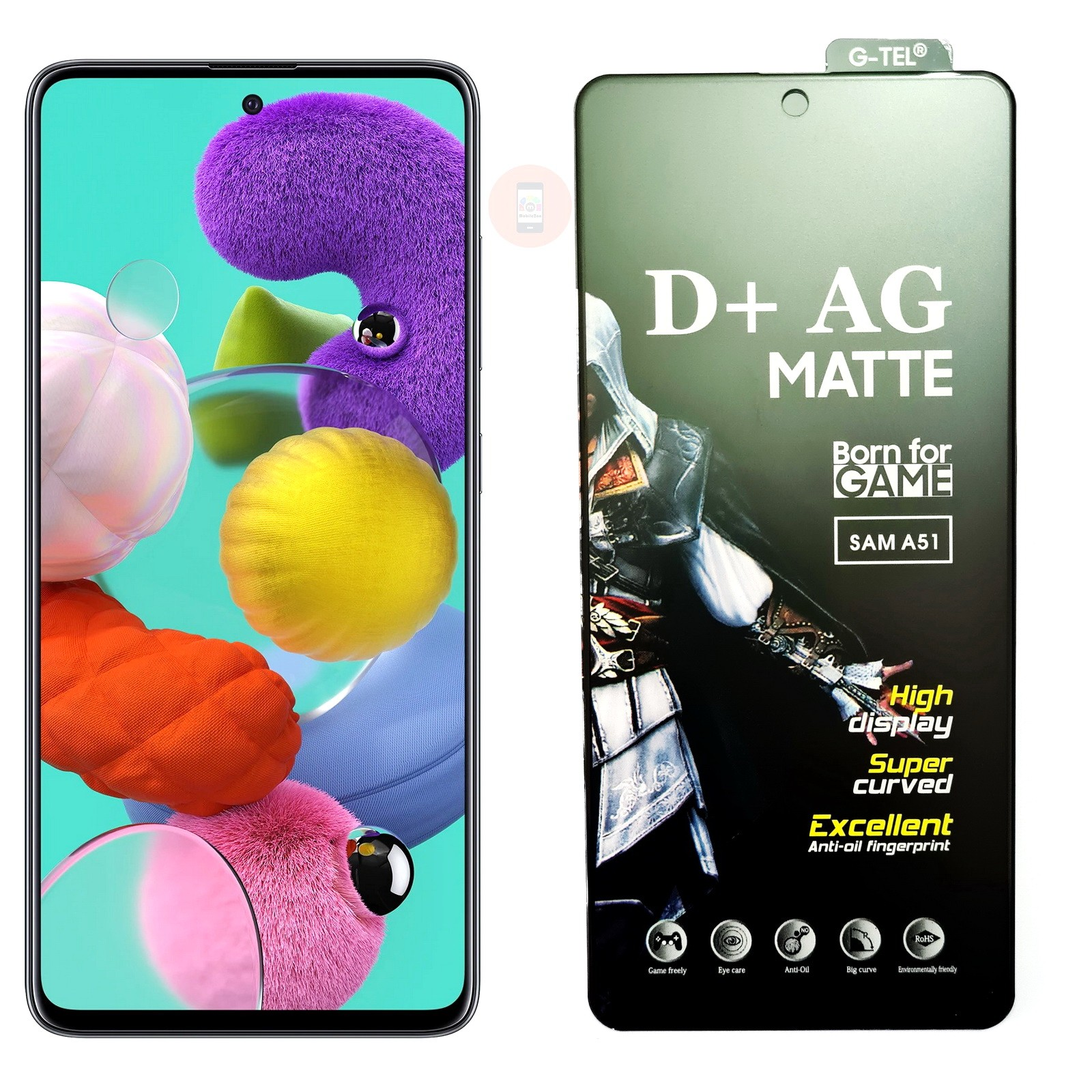 Galaxy A51 Matte Tempered Glass Screen Protector