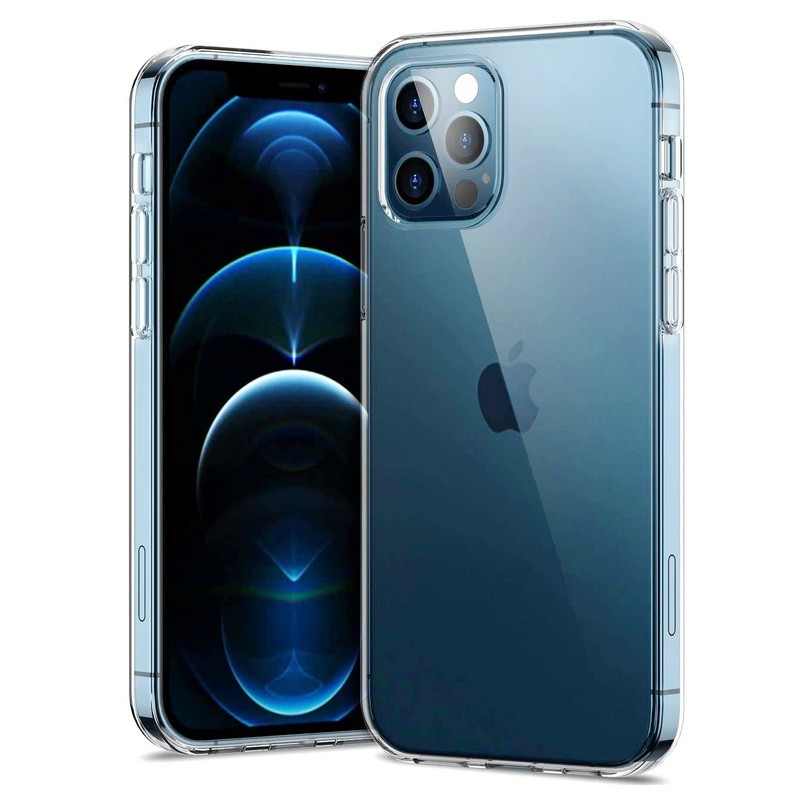 iPhone 12 Pro Transparent Ultra Thin Back Case Cover