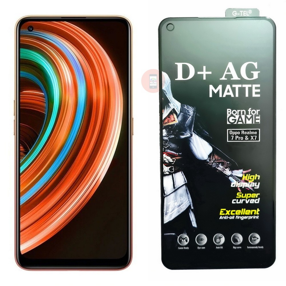 Realme X7 D+ AG Matte Tempered Glass Screen Protector