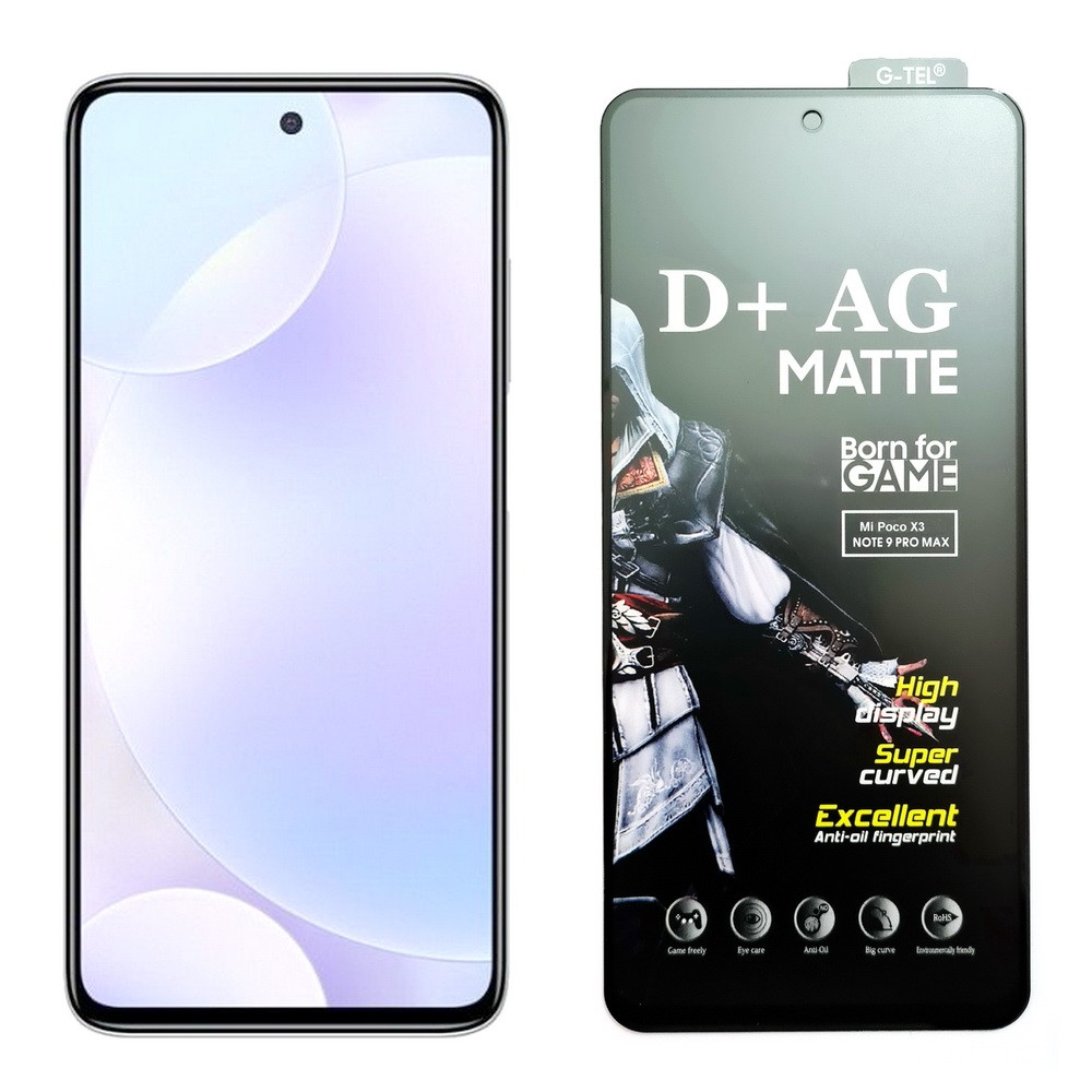 Poco X3 D+ AG Matte Tempered Glass Screen Protector