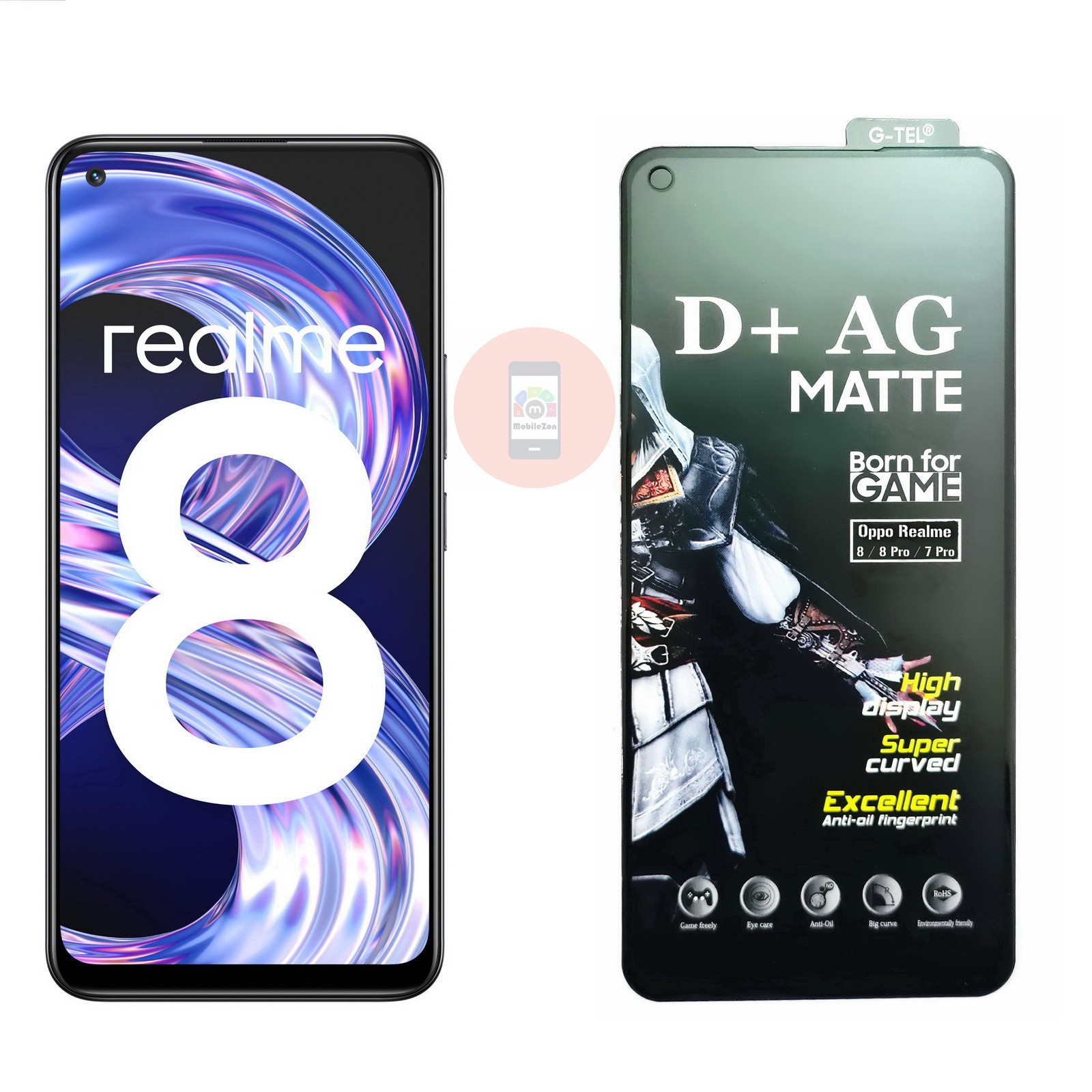 Realme 8 Pro D+ AG Matte Tempered Glass Screen Protector