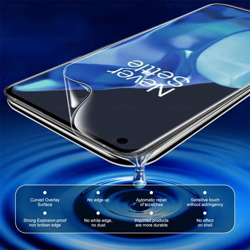 OnePlus 9 Pro Front Back Hydrogen Film Screen Protector