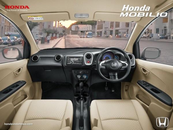 dashboard mobilio 1 Daftar Harga Honda Mobilio Pekanbaru angsuran cicilan kredit