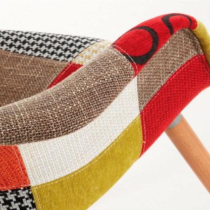 Silla Kenna Patchwork Multicolor