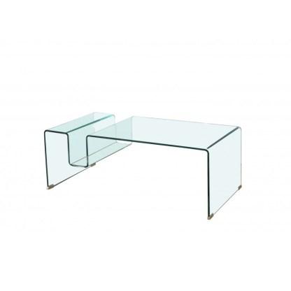 Mesa de centro Glass R 120x60cm
