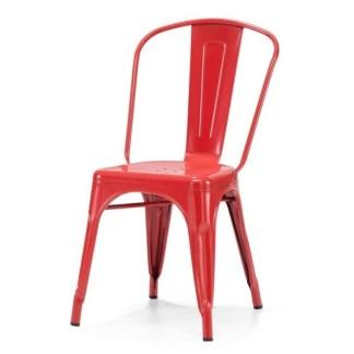 Silla Tolix Style Roja