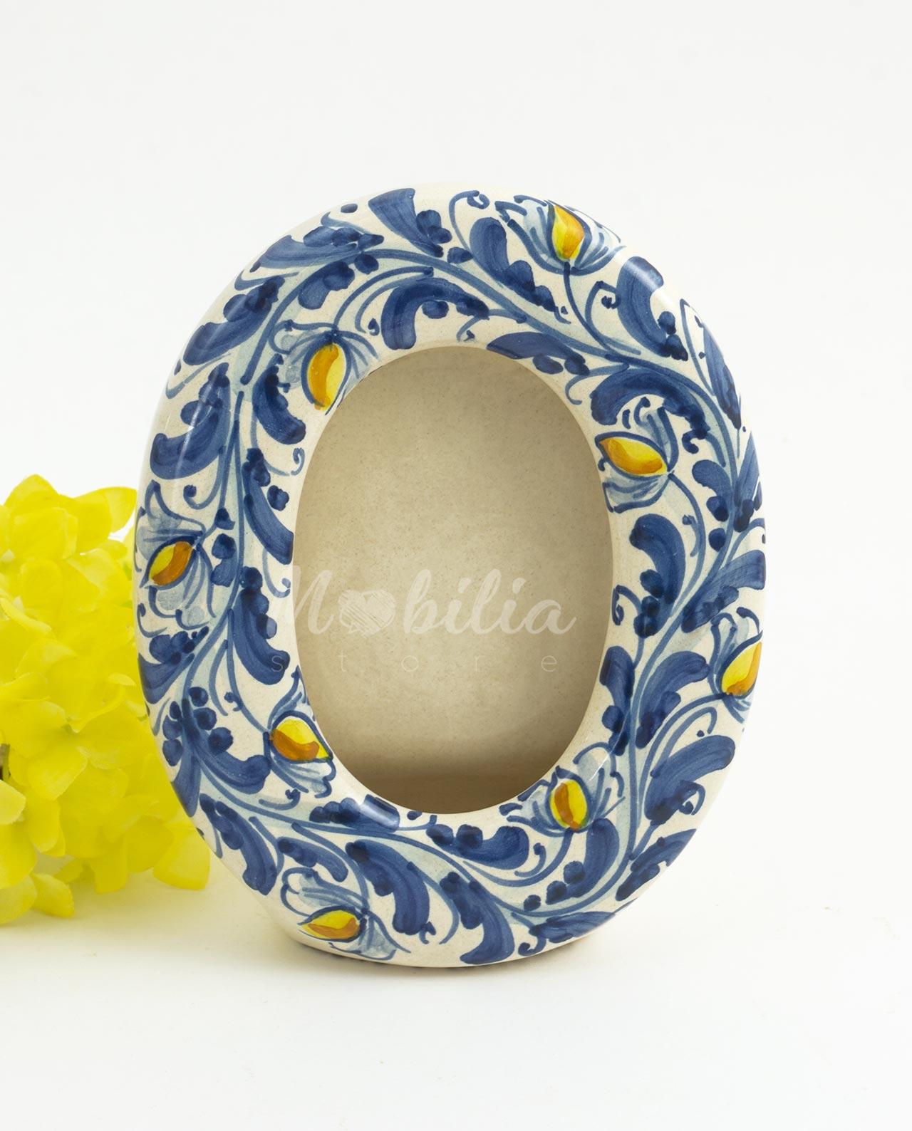 uova di pasqua semilavorato di terracotta. Portafoto Ovale Con Limoni Ceramica Di Caltagirone Mobilia Store Home Favours