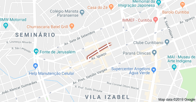 Rua Visconde de Cairu Seminário