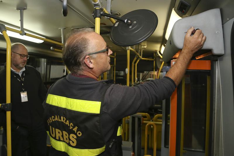 fiscalização dos ônibus