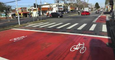 Bicicaixa na Avenida Marechal Floriano Peixoto