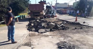Rua São José dos Pinhais Bairro Novo