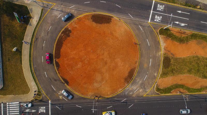 Avenida Getúlio Vargas Rotatória