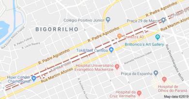 Rua Padre de Anchieta no Bigorrilho