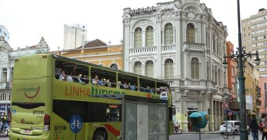 Ônibus da Linha Turismo