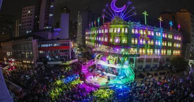 Palácio Avenida Coral de Natal de Curitiba