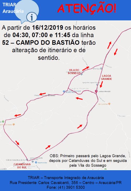 Linha 52 Campo