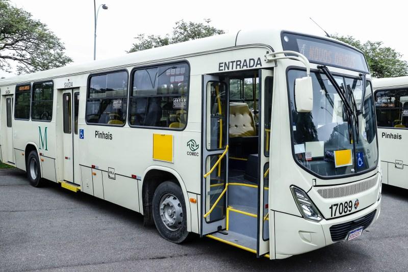Novos ônibus Pinhais