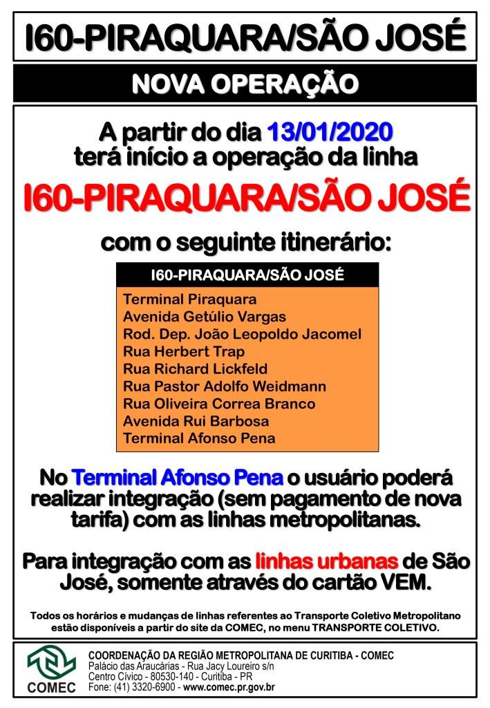I60 Piraquara São José