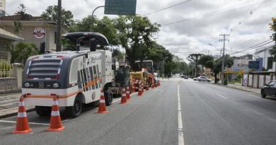 Obras Avenida Munhoz da Rocha