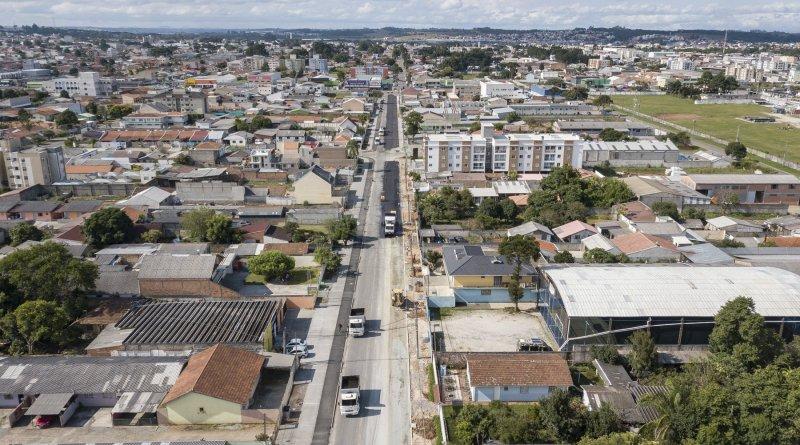 Rua Rio Paranapanema Obras