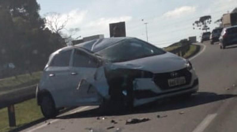 Carro Acidente Campo Largo
