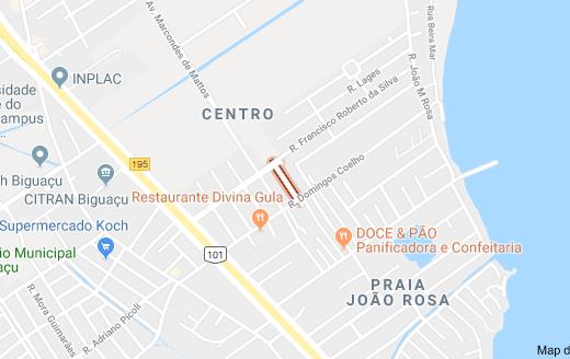 Rua Vereador Emídio Amorim Veríssimo