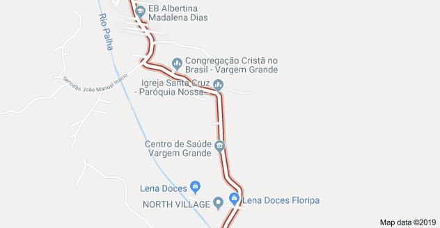 Estrada Cristóvão Machado de Campos