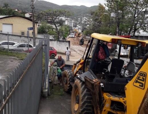 Obras de drenagem