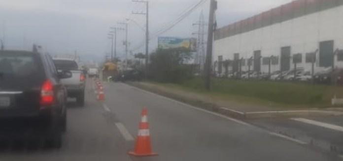 Carro rodou São José
