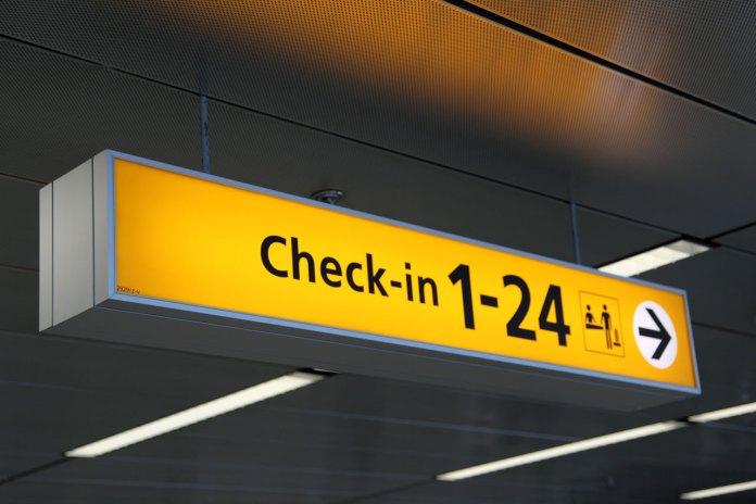 Check-in Aeroporto