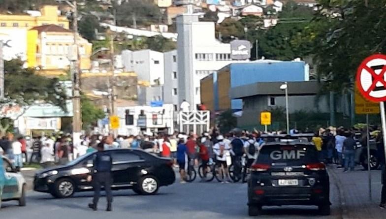 Manifestação Transporte