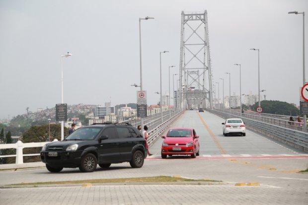 Tráfego Ponte Hercílio Luz