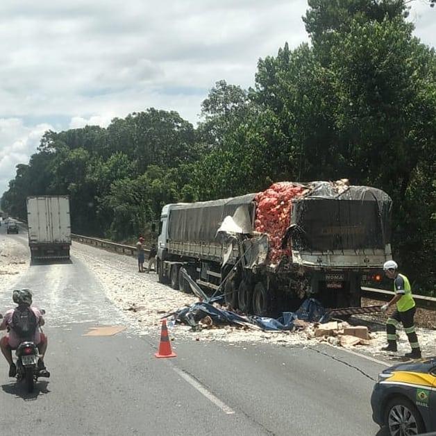 Caminhão Joinville