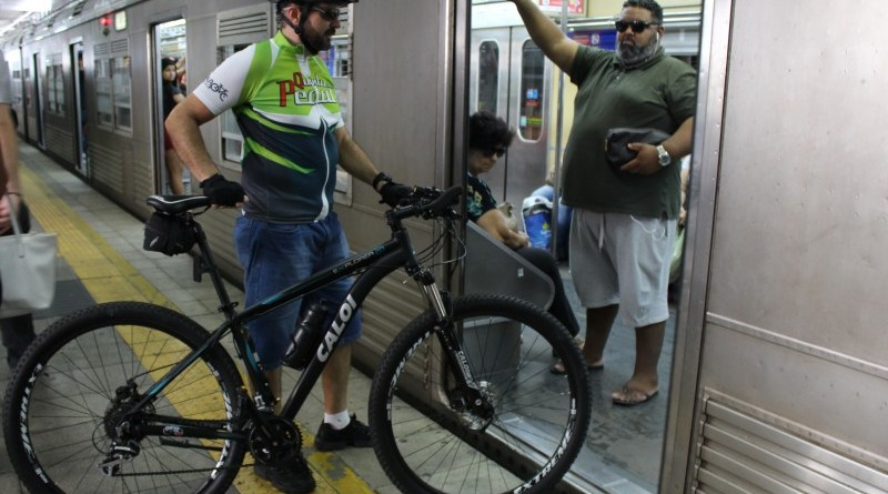 Bicicleta no Trensurb