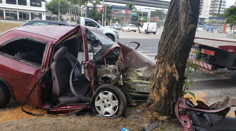 Carro árvore Ipiranga