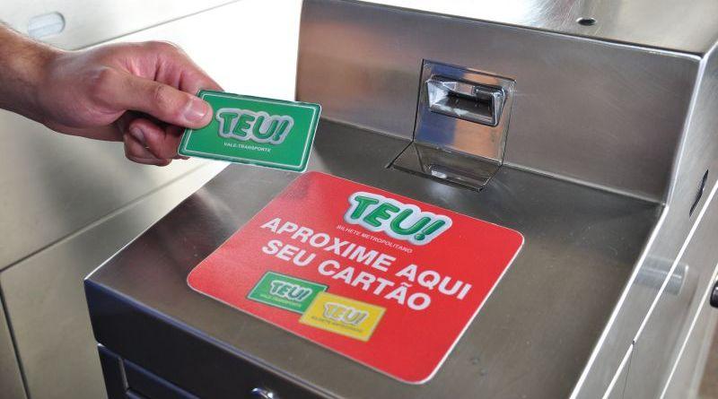 Cartão TEU