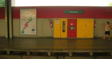 Estação Pavuna Linha 2