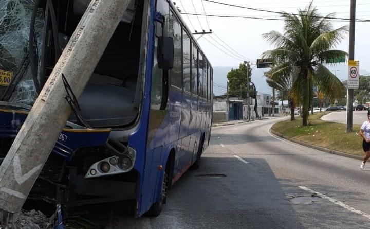 Ônibus Pégaso Acidente