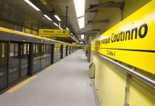 Estação Fradique Coutinho Linha 4-Amarela