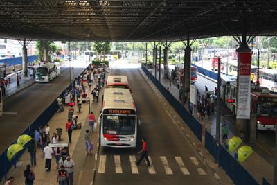 mudanças operacionais Terminal São Mateus dengue