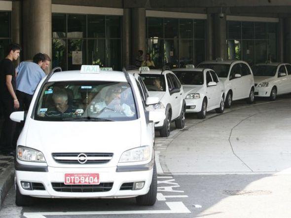Táxi Departamento de Transportes Públicos