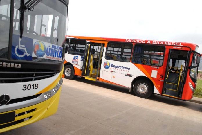 Greve de ônibus em Guarulhos