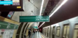 Estação Vila Madalena Operação normal