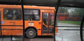 Greve de ônibus em Curitiba