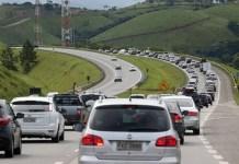 Movimento nas estradas
