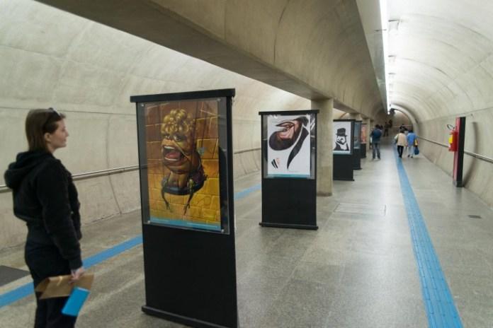 Roteiro cultural de Exposição Cultura Linha da Cultura