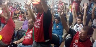 CPTM greve